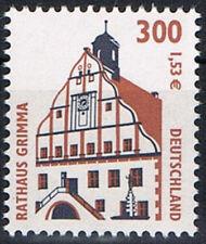 Mi.Nr. 2141 **, BRD 2000, SWK. Rathaus Grimma