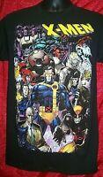Marvel  Comics X-Men Character Universe Mens Small Adult Unisex T-Shirt - New