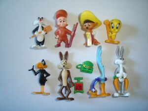 LOONEY TUNES 1997 KINDER SURPRISE FIGURES SET WB - FIGURINES COLLECTIBLES