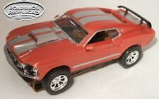 Indian Fire/silver Racing 1969 Ford Mustang Aurora Thunderjet T-jet Ho Slot Car