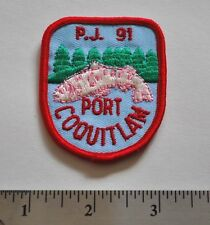 PJ91 Port Coquitlam, BC, Jamboree, Boy Scouts Canada Badge Patch New