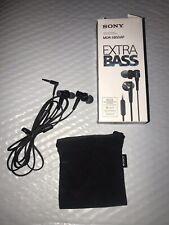 Sony MDR-XB50AP Extra Bass In-Ear Earbuds Headset, Black - MDRXB50AP/B #002