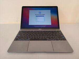 "2017 Apple MacBook 12"" Retina Space Gray 1.3GHz i5 + 8GB + 512GB SSD - MNYG2LL/a"
