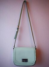 Kate Spade Mint Pastel Leather Scalloped Crossbody Bag