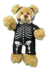"""Skeleton Morph Suit Teddy Bear Clothes Fits Most 14""""-18"""" Build-A-Bear and Make Y"""