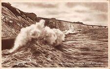BR62903 rough sea at black rock brighton uk