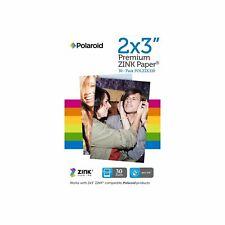 Lot de 2 pack Papier POLAROID ZINK 2x3 (2x30 feuilles)