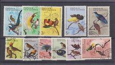 PAPUA NEW GUINEA 188-98 1964-5 used Birds