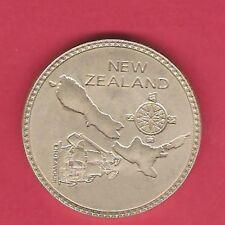 NEW ZEALAND 1897 Crown Pattern Silver (Nickel Silver) MC-8