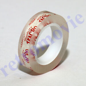 Splicing Tape For Standard 8mm Cine Film - GENUINE & BEST - Produced by Jacro
