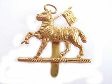 Royal West Surrey Regiment Cap Badge Lamb and Flag