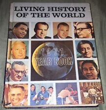 Living History Of The World 1971 Yearbook