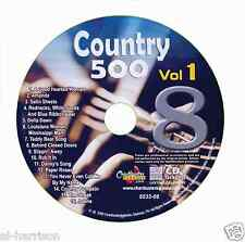 KARAOKE CHARTBUSTER CDG COUNTRY 500 VOL.1 DISC CB8532  #8