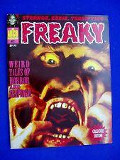 Freaky 1: reprints golden age horror comic stories. Magazine-sized  VFN.