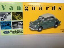 Vanguards 1:43 Morris Minor Convertible Almond Green VA07101