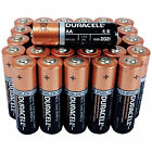 50 PCS AA 1.5V Duracell Alkaline Batteries Bulk Exp. 2025 Duralock