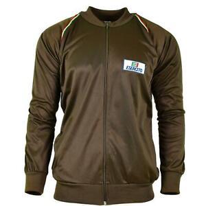 Original Italian Army troops training jacket tracksuit top military surplus NEW