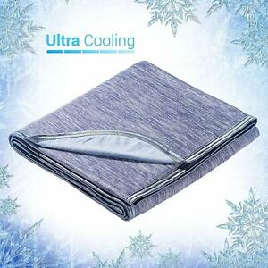 Elegear Cooling Throw Blanket, Absorbs Body Heat to Keep Adults, Pregnant, Child