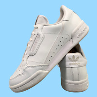 Adidas Continental Women's Shoes Size Uk 5 White Sports Leather Trainers EUR 38