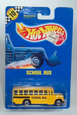 Hot Wheels 1990 Speed Points Ford B Series Conventional School Bus Scale Model