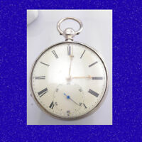 Regency  Superb Silver Liverpool Patent Chain Fusee Massey 3 Pocket Watch 1831
