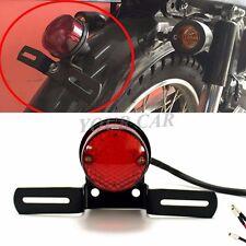 1Pcs 12V Motorcycle Tail Light Stop Licenses Brake Lamp For Chopper Bobber Cafe