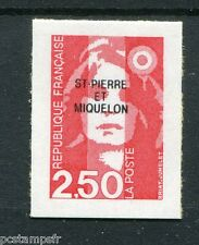 ST-PIERRE-et-MIQUELON, 1992, timbre 557, type MARIANNE AUTOADHESIF, neuf**