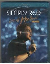 BLU-RAY SIMPLY RED LIVE AT MONTREUX 2003 New & Sealed Plus 7 Tracks From 2010