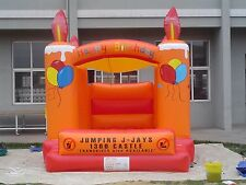MASSIVE JUMPING CASTLE SALE - 4mx4m Castle Birthday Theme **Commercial** USED