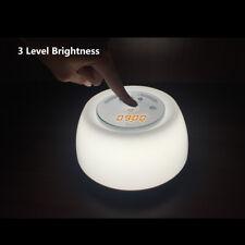Easyacc LED Natural Wake-Up Light Sunrise Simulation Alarm Clock Night Lamp