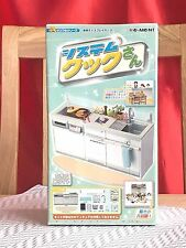 Brand new! Re-ment Miniature Large Kitchen Cabinet Stove Washing Basin With Sink