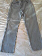 "Gloria Vanderbilt Jeans UK12. 'Amanda' pale blue, high rise, 30"" straight leg,"