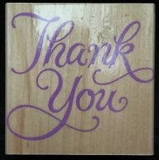 Hero Arts Fancy Thank You Mounted Rubber Stamp F366