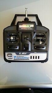 Radiocommande Esky 4 voies d'hélicoptère lama v3 esky