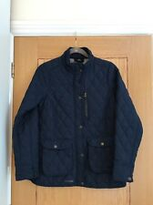 TRESPASS Coldheat Insulation Navy Quilted Jacket with Zip & Poppers Size XS  NEW