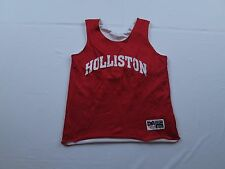 Womens Don Alleson Holliston Red Reversible Basketball Practice Jersey Sz S