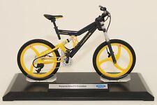 PORSCHE Moto FS Evolution gris, échelle 1/10 WELLY fahrradmodell Vélo modèle