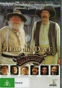 Dad And Dave On Our Selection DVD Leo Mckern Geoffrey Rush New and Sealed AUS