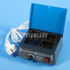 Portable Dental Lab 3-Well Wax Heater Digital LED Wax Dipping Pot 110/220V A+