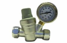 Hercules Water Pressure Reducing Valve PRV Brass 15MM & 22MM Fitting Chrome