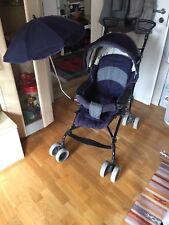 Kinderwagen mit Sonnenschirm (mit Babysack) Von Teutonia