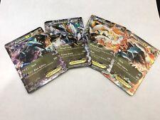 SET BLACK KYUREM EX & WHITE KYUREM EX Pokemon TCG Cards Plasma Storm Boundaries