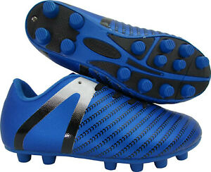 kids vizari soccer shoes,cleated , synthetic upper royal blue, wide