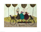 Sam Toft A Bikeful! Art Print 16 x 20 Inches Officially Licensed