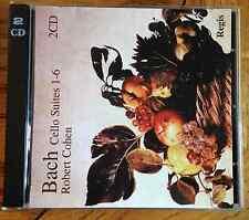 Bach - Cello Suites 1-6 2CD Regis Recs. Robert Cohen - Cello