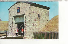 Drawbridge and Gate  Old Fort Niagara  Youngstown  NY  Chrome Postcard 1307