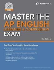 Master the AP English Literature & Composition Exam (Paperback or Softback)