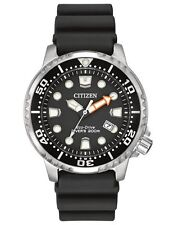 Citizen Eco-Drive Mens BN0150-28E Promaster ISO Dive Black Dial & Strap Watch