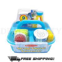 Melissa & Doug Let's Play House Spray, Squirt & Squeegee Includes Caddy Set
