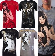 Playboy + Marc Ecko Pin-Up Girl Bunny T-Shirt Limited Edition Men's Small